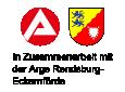 Grafik Zusammenarbeit mit der Arge Rendsburg-Eckernförde
